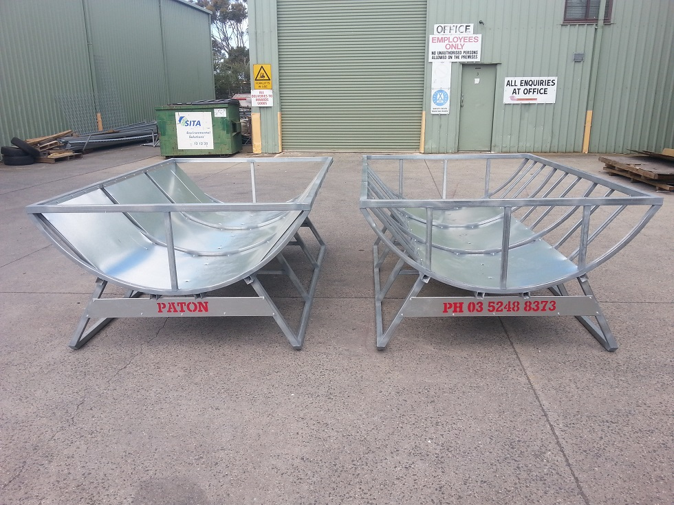 Paton Cattle and Beef Hay feeders - HCS25 Models - 2
