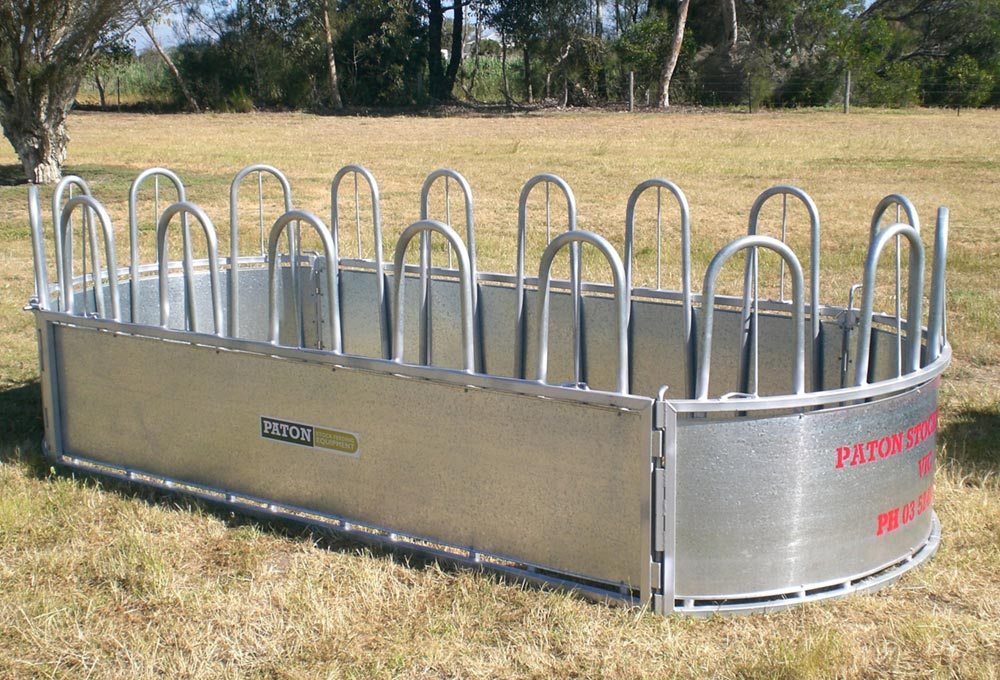 goat cube barron built hay feeders sheep cattle feeder and