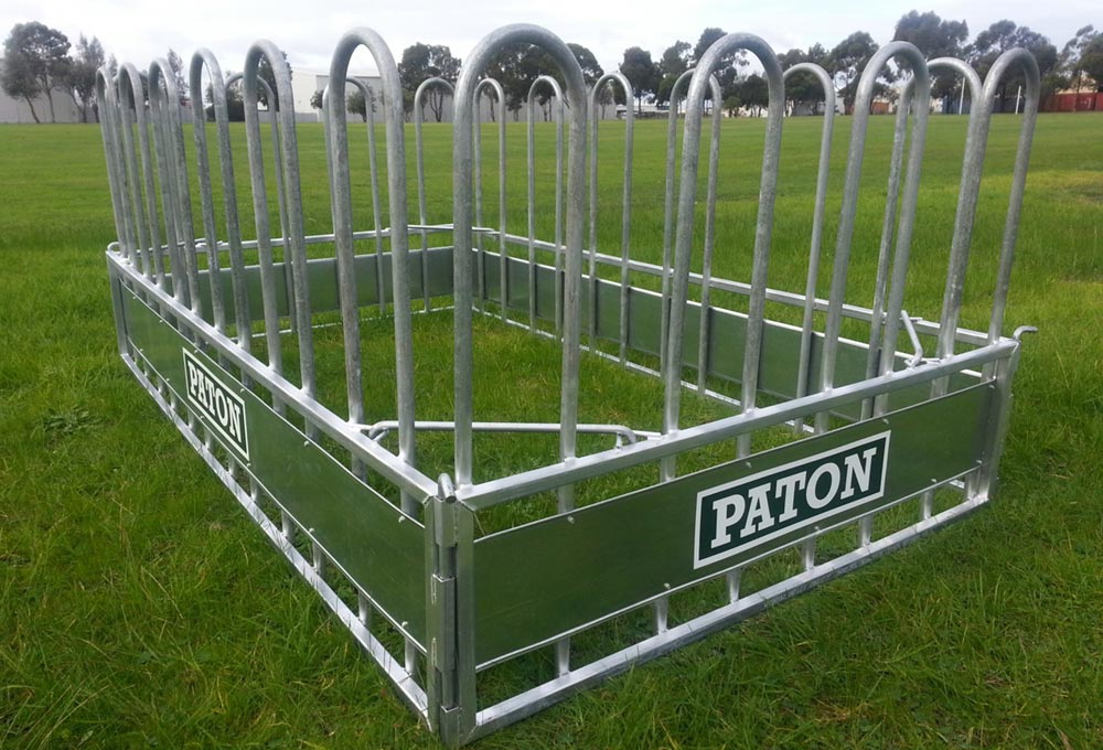 equipment bale livestock hay round industries piece paton ring feeder product