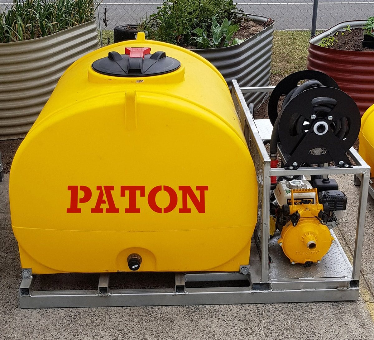 paton fire fighting skid - 1200 litre
