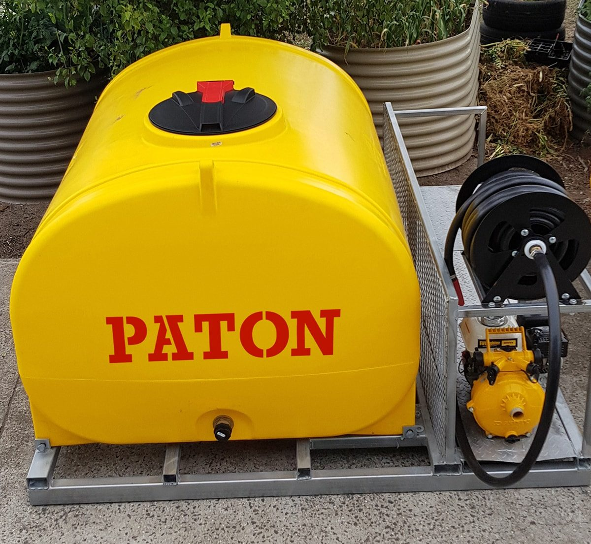 paton fire fighting skid - 2000 litre