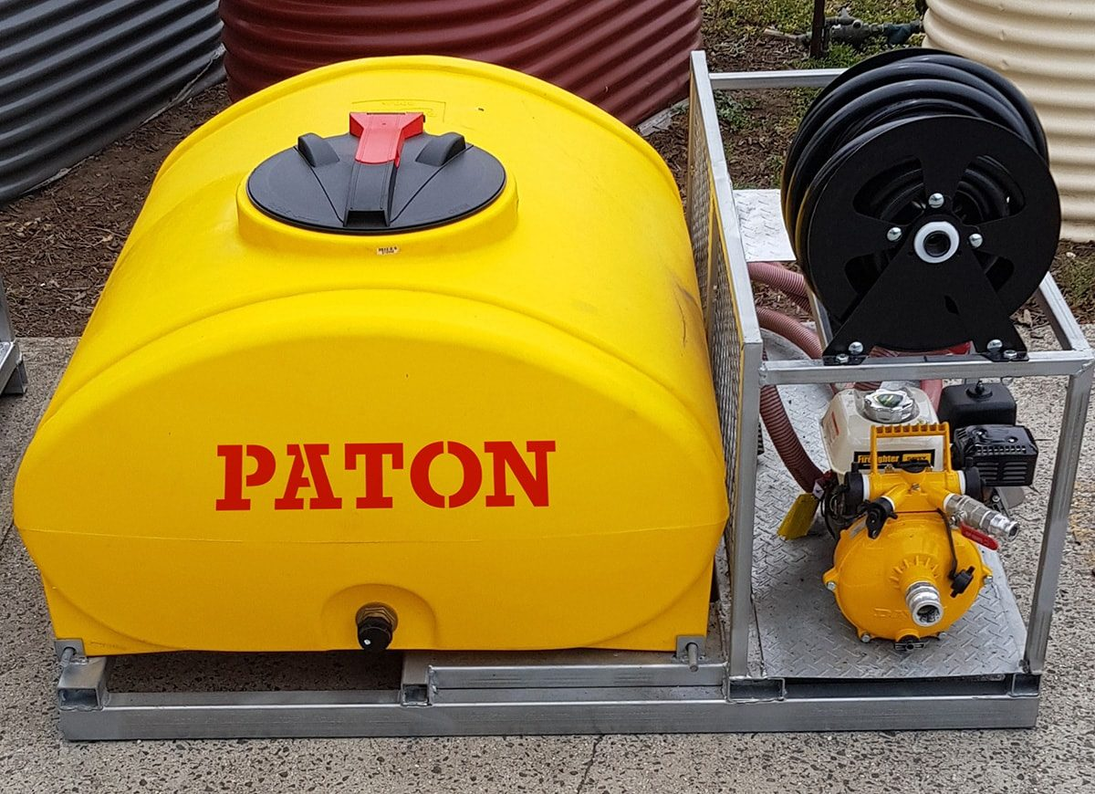 paton fire fighting skid - 800 litre